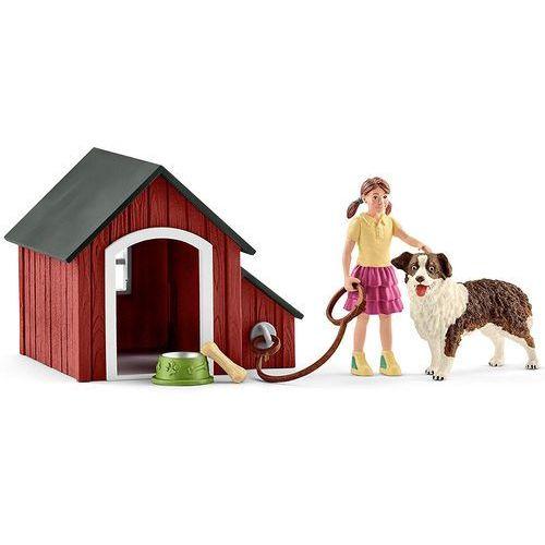 Schleich Zestaw buda dla psa z figurkami 42376 - (4055744012600)