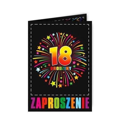 Dp Zaproszenie 18 na osiemnastkę - 1 szt. (5907509919794)