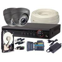 Easycam Zestaw monitoringu z948 2x kamera rejestrator hdd 1tb