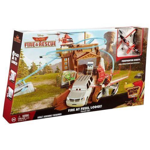 Mattel Pożar w Kadłubacówce Planes 2 Samoloty Zestaw CDR39