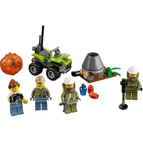LEGO City Volcano Explorers, Wulkan - zestaw startowy, 60120