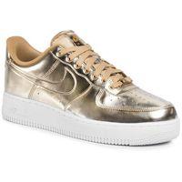 Nike Buty - air force 1 sp cq6566 700 metallic gold/club gold/white