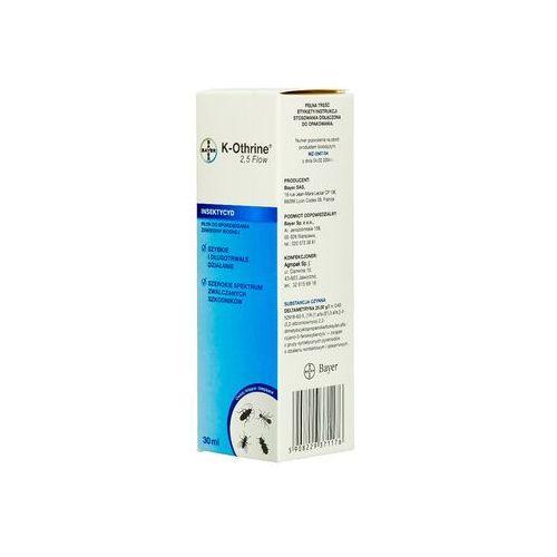 Bayer K-othrine 2,5 flow 30ml. oprysk na pluskwy, komary, muchy, mrówki.