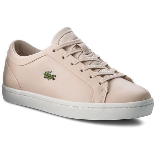 Sneakersy - straightset lace 317 3 caw 7-34caw006015j lt pnk, Lacoste, 35.5-41