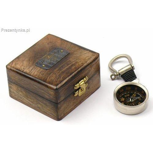 Breloczek - kompas w pudełku