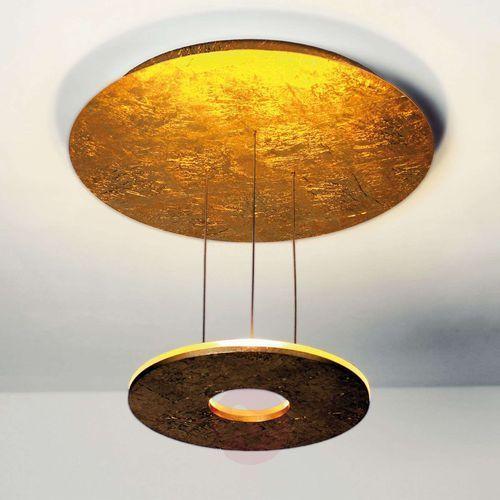 saturn lampa sufitowa led złoty, 3-punktowe - design - obszar wewnętrzny - saturn - czas dostawy: od 2-3 tygodni marki Bopp