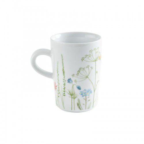 five senses wildblume mg filiżanka do caffè latte, 0,35 l, niebieska marki Kahla