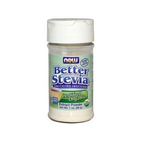 Now foods better stevia extract powder 28g wegański