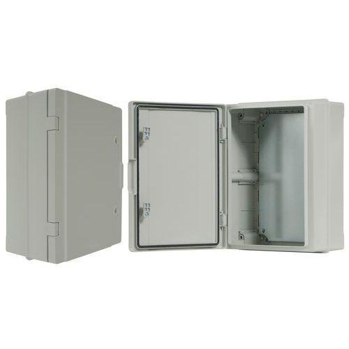 Szafka rozdzielcza herm.300x400x170mm ip65, drzwi nieprzeźroczyste szafka rozdzielcza herm. 300 ip65, marki Pawbol