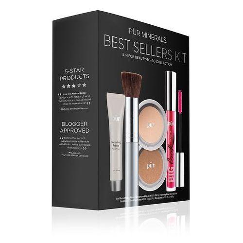 start now 5-piece beauty-to-go collection - zestaw produktów do makijażu blush medium marki PÜr