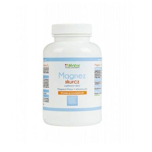 Magnez skurcz Magnez + Potas + B6 100 tabletek MyVita (5906395684533)
