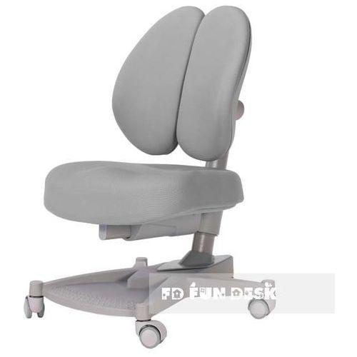 CONTENTO Grey - Ergonomiczne krzesełko z regulacją wysokości FunDesk - ZŁAP RABAT: KOD50, FD-CONTENTO-GREY