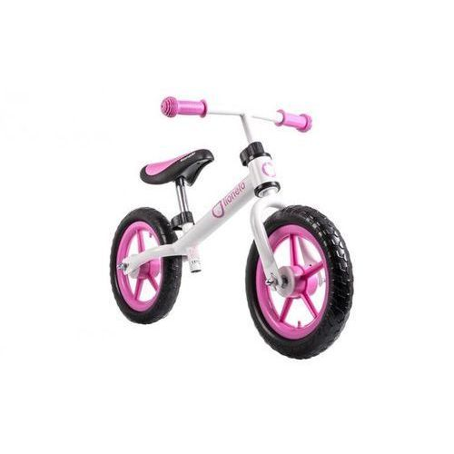Rowerek biegowy fin plus pink marki Lionelo