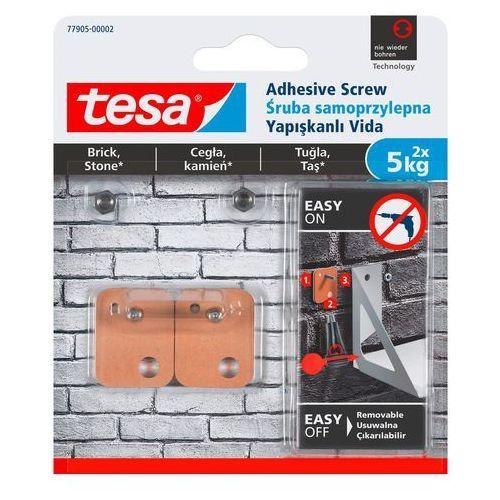 Śruby samoprzylepne Tesa zewnętrzne kwadratowa udźwig 5 kg 2 szt. (4042448353931)