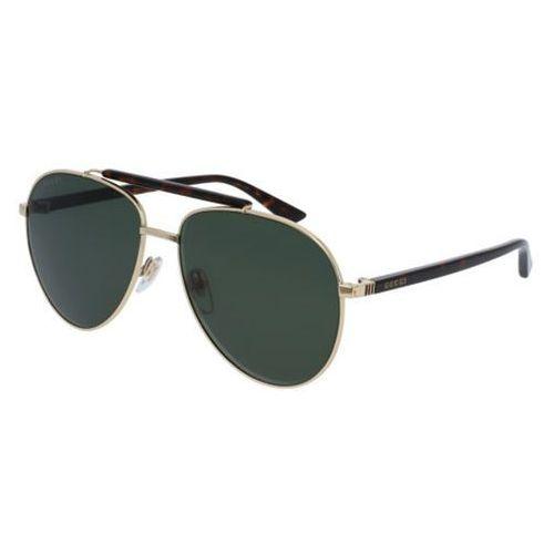 Okulary słoneczne gg0014s polarized 006 marki Gucci