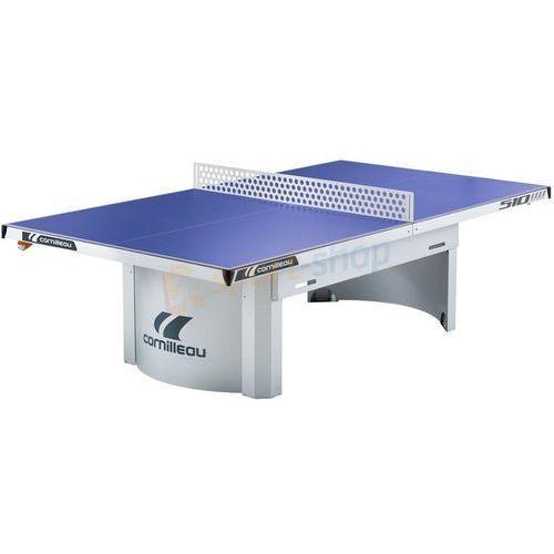 Stół tenisowy pro 510m outdoor (niebieski) marki Cornilleau