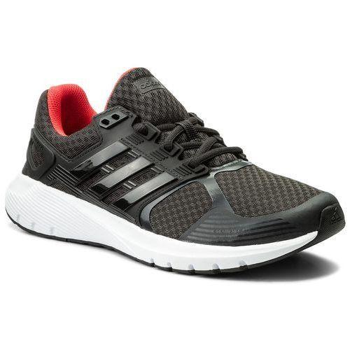 Buty adidas - Duramo 8 CP8750 Carbon/Carbon/Reacor, kolor czarny