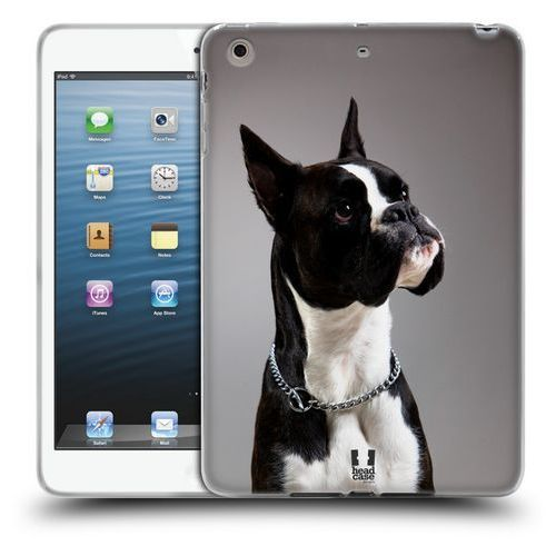 Etui silikonowe na tablet - Popular Dog Breeds BLACK AND WHITE DOG BOXER z kategorii Pokrowce i etui na tablety