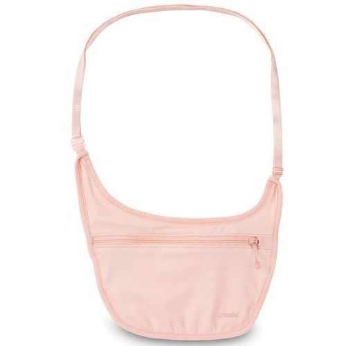 Pacsafe Coversafe S80 dyskretna saszetka podróżna na ramię / etui podróżne - Orchid Pink