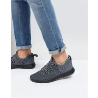 New Look Knitted Trainers In Dark Grey - Grey