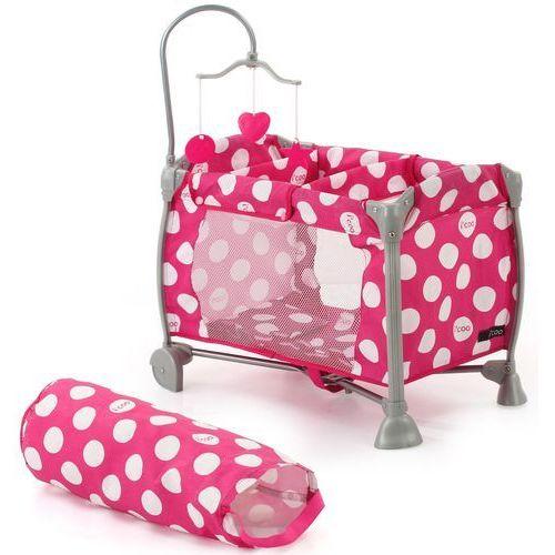 Łóżeczko dla lalek w kropki Starlight