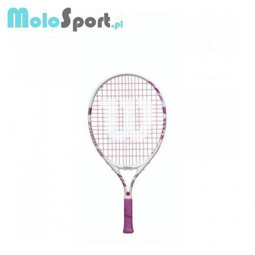 Rakieta tenisowa dziecięca Wilson Envy Pink 21 z kategorii Tenis ziemny
