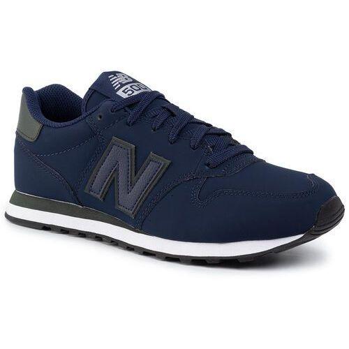 Sneakersy NEW BALANCE - GM500TRP Granatowy, kolor niebieski