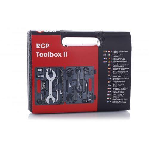 toolbox narzędzie rowerowe 33 części czarny zestawy narzędzi marki Red cycling products