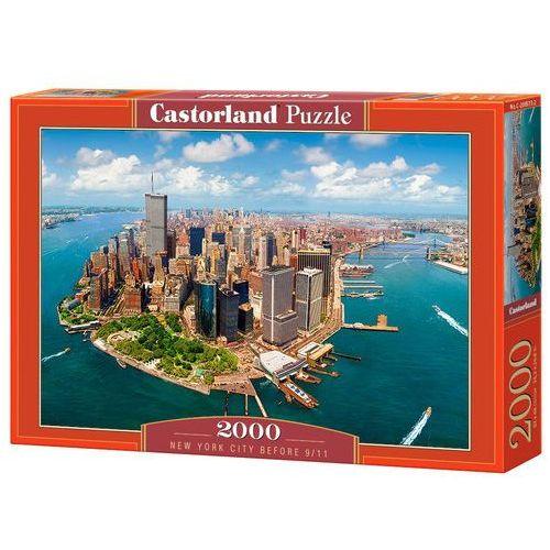 Puzzle 2000 Nowy Jork przed wrześniem 2011 CASTOR, 485916