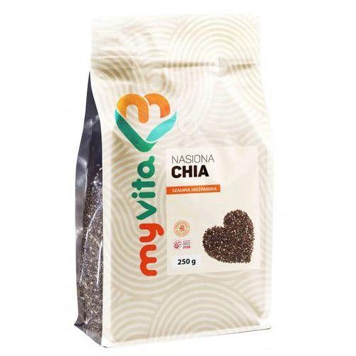 Nasiona chia (szałwia hiszpańska), 250g, myvita marki Proness myvita