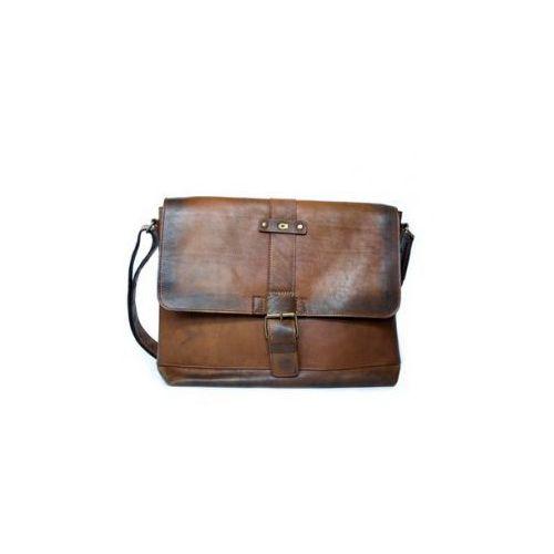 ALIVE 8 torba skóra naturalna firmy Daag na ramię z miejscem na notebook unisex, alive-8