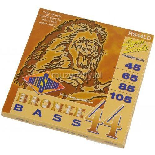 rs44ld bronze bass 44 45-105 struny do gitary basowej akustycznej marki Rotosound