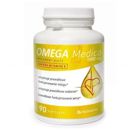 Aliness Omega 1000mg 90 kapsułek medicaline (5902596935146)