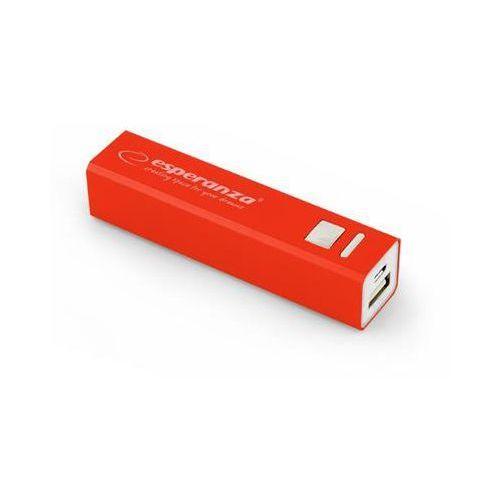 "Power bank Esperanza 2400mAh ""Erg"" czerwony"
