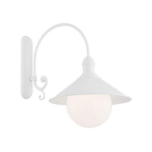 Kinkiet erba 3297 bis lampa ścienna zewnętrzna 1x60w e27 ip44 biały marki Argon