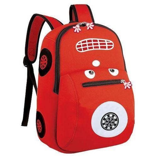 Spokey Plecak neoprenowy autko czerwony - (5902693205050)