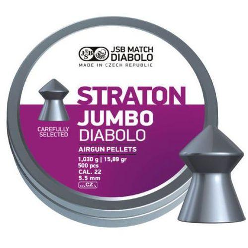 Śrut JSB Diabolo Straton Jumbo 5.5mm (.22) 250szt (546238-250)