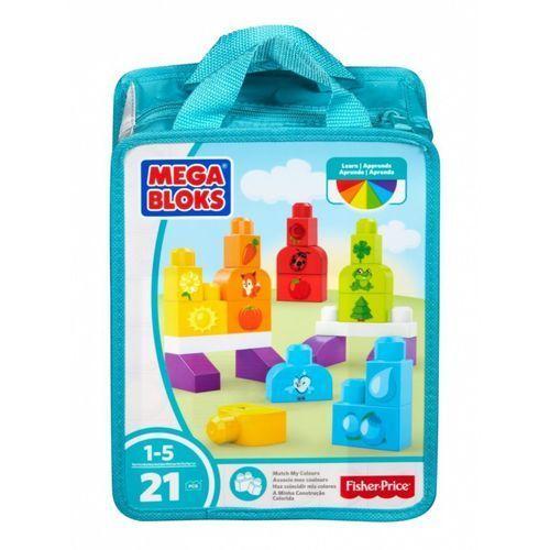 Mega Bloks Klocki, kolorowa układnka