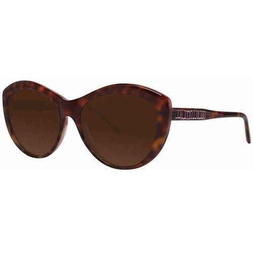 Vera wang Okulary słoneczne agnella tortoise