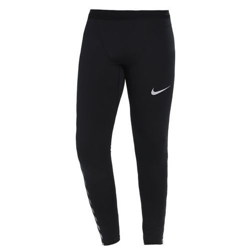 Nike Performance POWER FLASH TECH Legginsy black/reflect black/silver