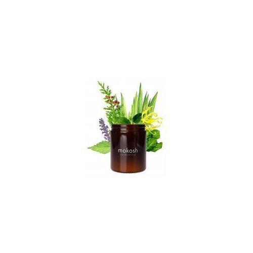 Mokosh , roślinna świeca sojowa, orientalny ogród, 140g