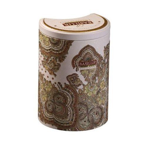 BASILUR 70224 100g White Moon Herbata zielona liściasta puszka | DARMOWA DOSTAWA OD 150 ZŁ! z kategorii Biała herbata