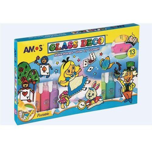 Farba do witraży AMOS 13 kolorów GD22P13, 54079