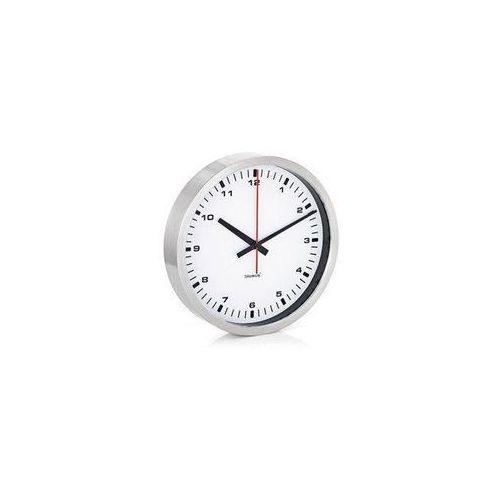 Zegar ścienny Era 30 cm biały, kolor czerwony