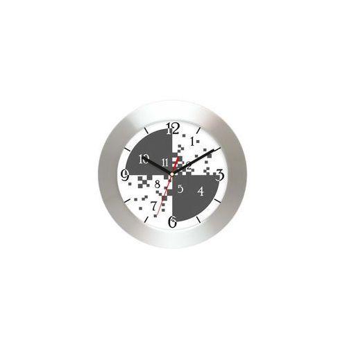 Zegar ścienny aluminiowy cyferki #3, AL2412CC