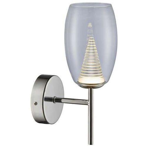 Lampa ścienna enzo mb1622-1 clear minimalistyczna oprawa szklana led 5w kinkiet przezroczysty marki Zumaline