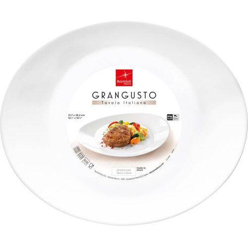 Talerz owalny do steków 31.5x26 cm marki Bormioli rocco
