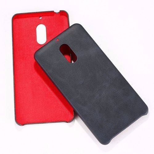 Etui X-Level Vintage Nokia 6 Black + Szkło (6957330341607)