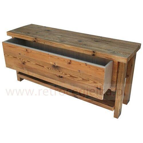 Szafka łazienkowa, stare drewno sosnowe marki Retrocegielka