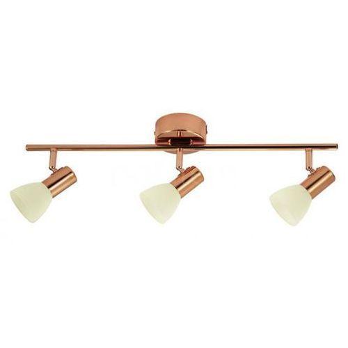 Plafon LAMPA sufitowa GLOSSY 2 94738 Eglo regulowana OPRAWA ścienna kinkiet LED 15W reflektorek listwa miedziana (9002759947385)